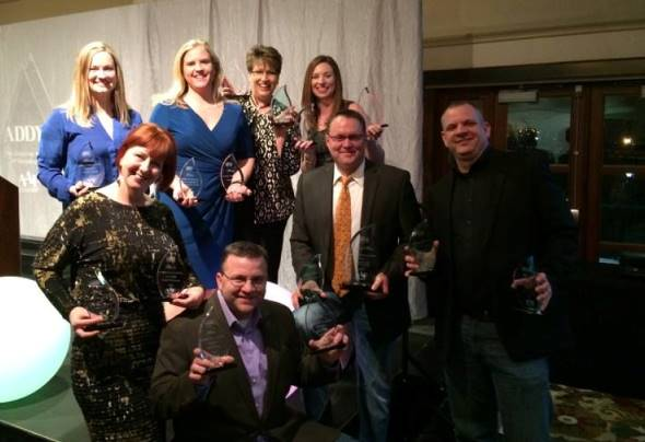 MindFire at 2015 ADDY awards