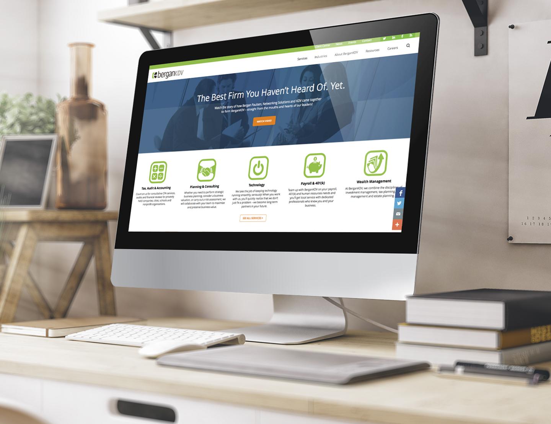 BerganKDV Website Display