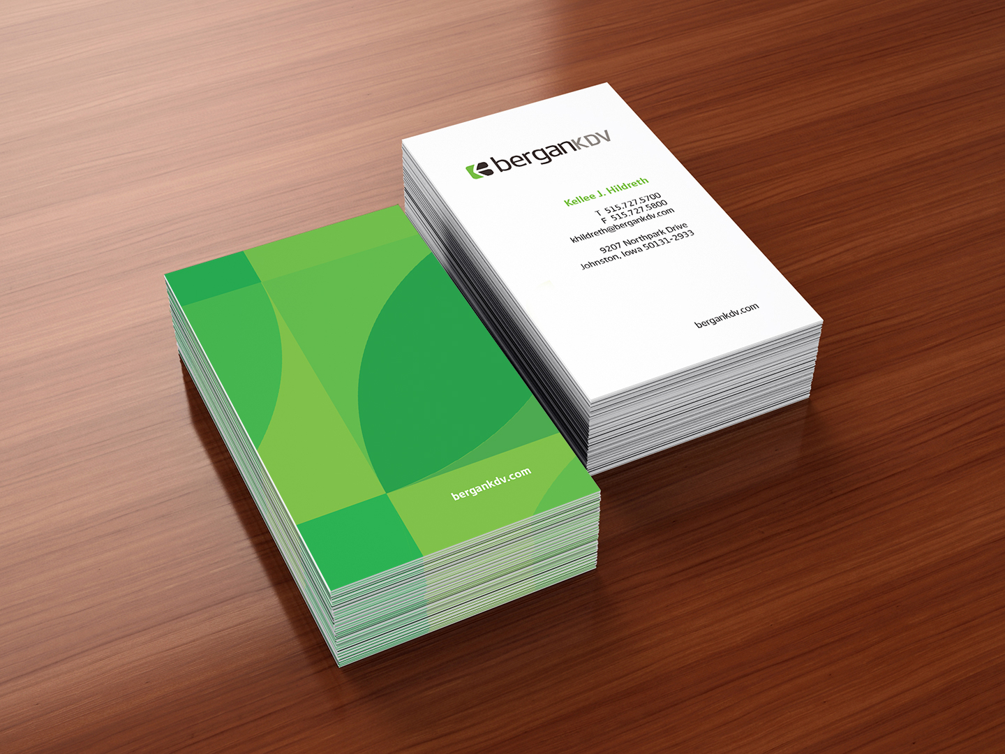 BerganKDV Business Cards