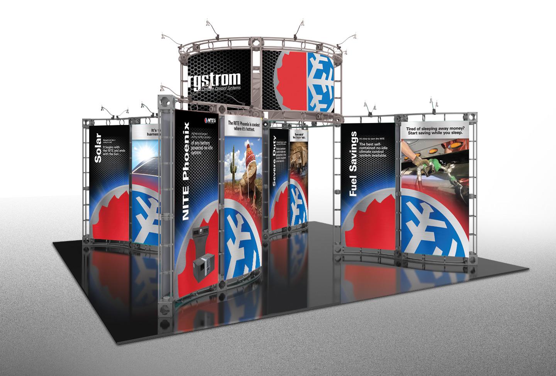 Bergstrom Tradeshow Display