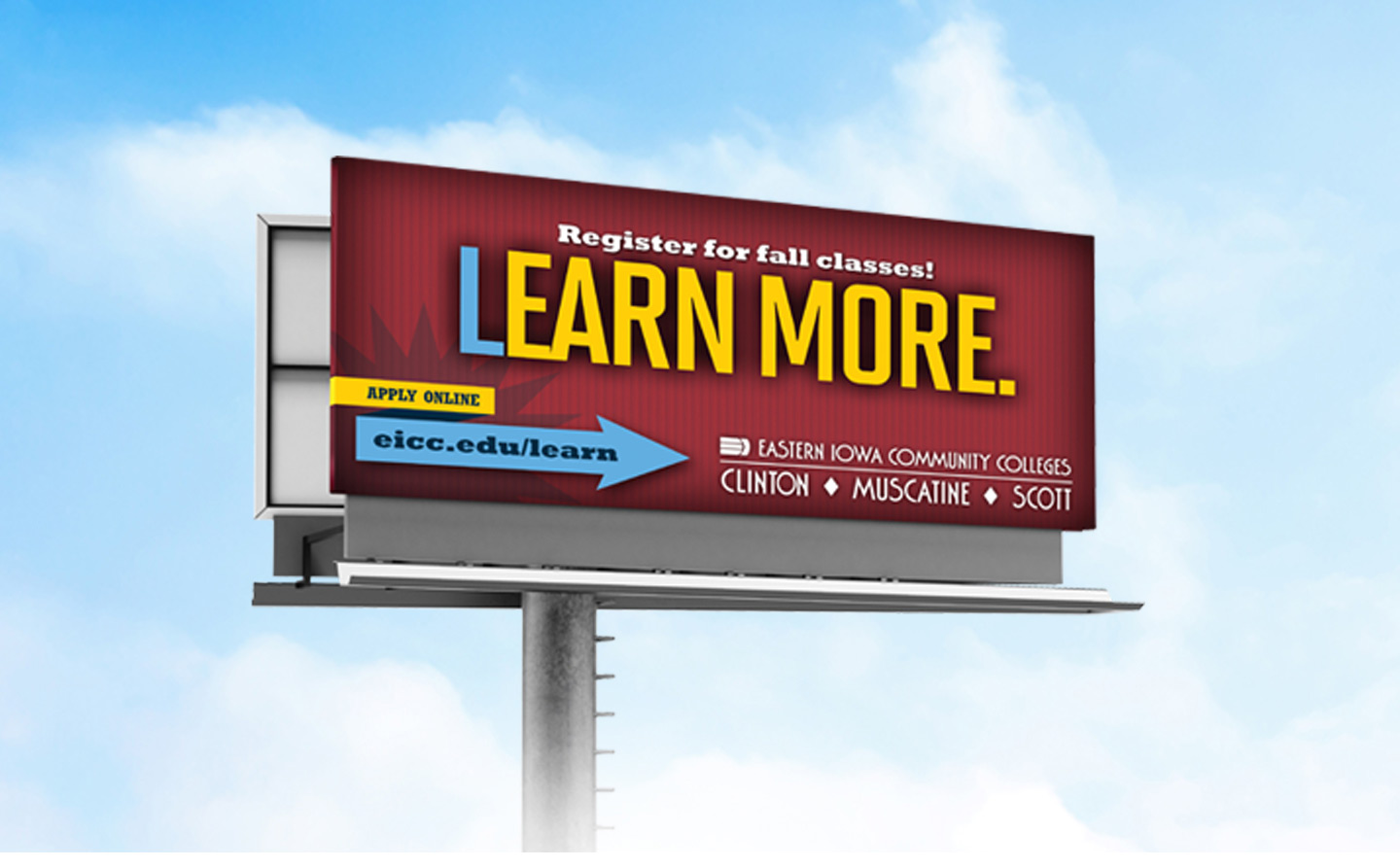 Eastern Iowa Community College Billboard