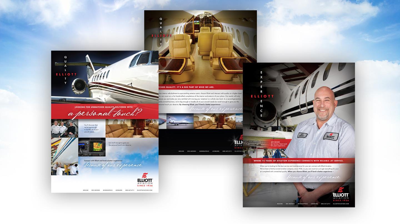 Elliott Aviation Ad Campaign
