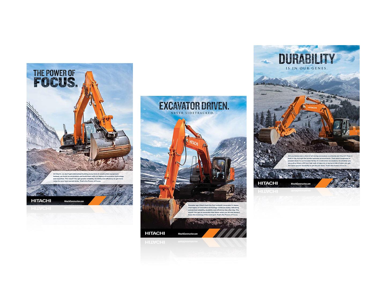 Hitachi Brand Ad Campaign