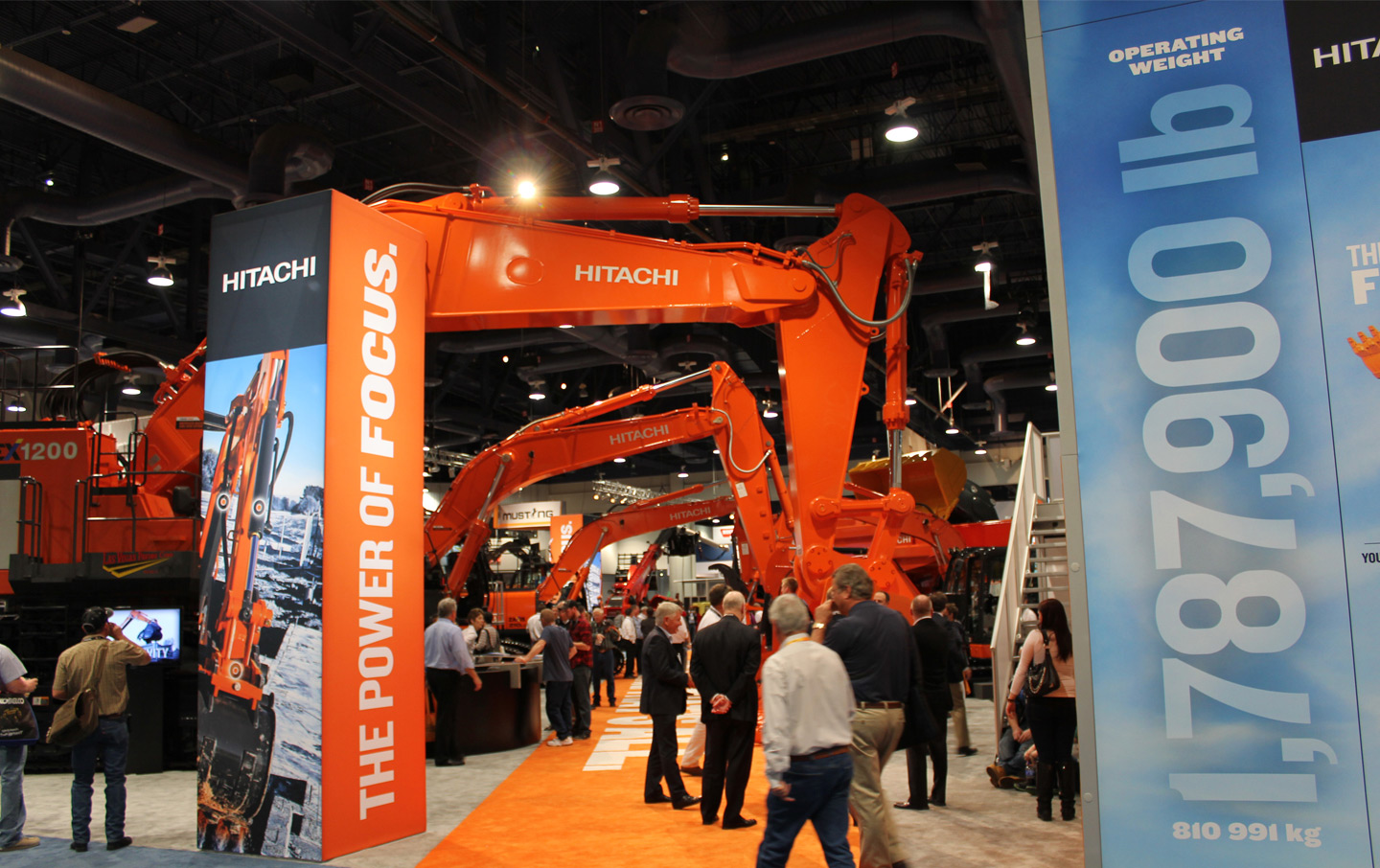 Hitachi ConExpo Trade Show