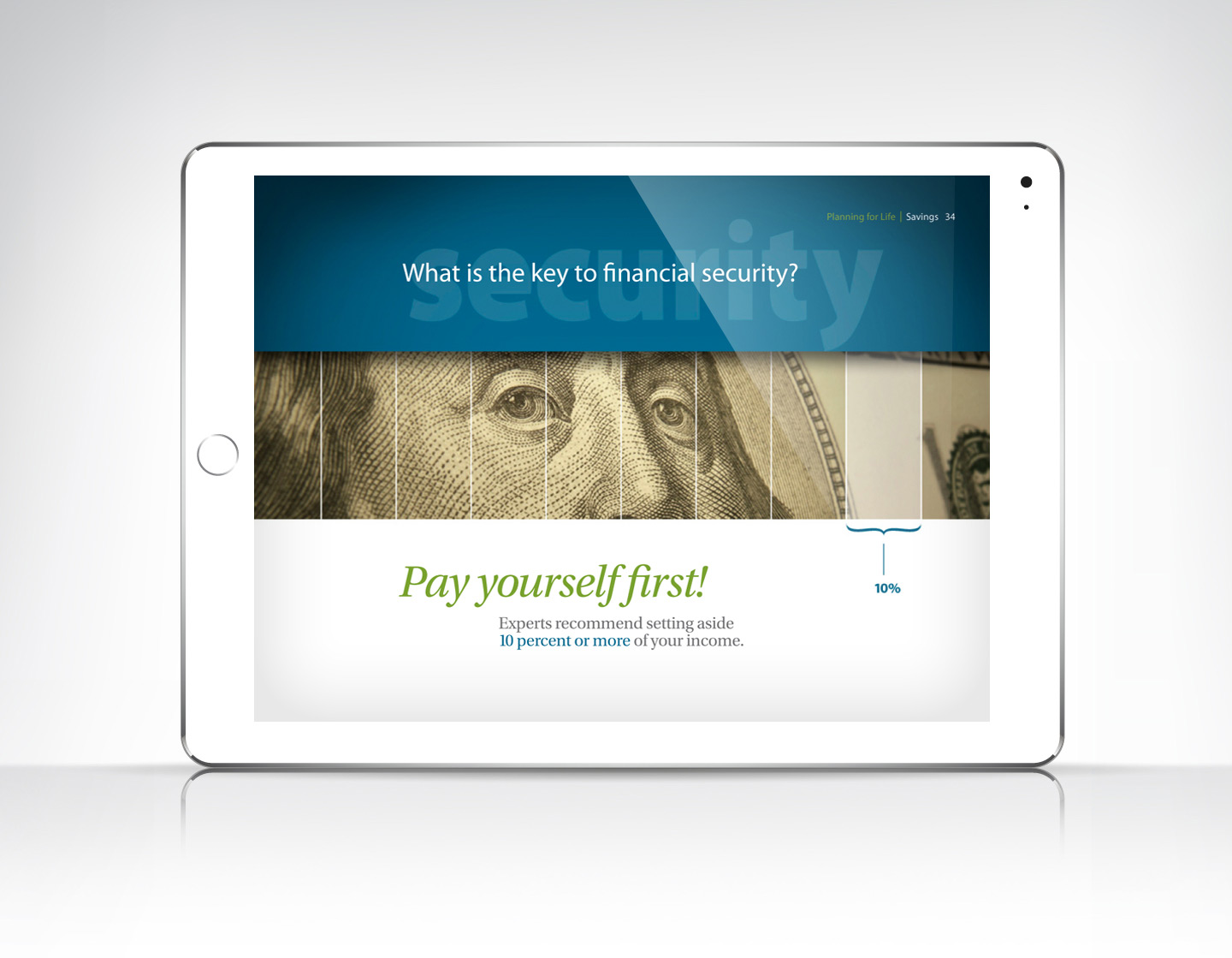 Modern Woodmen of America iPad 2