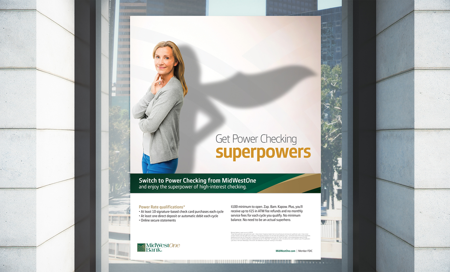 MidWestOne Power Checking campaign by MindFire