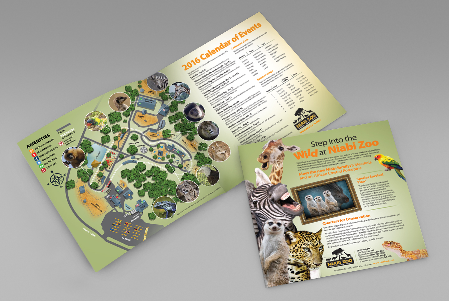 Niabi Zoo map by MindFire