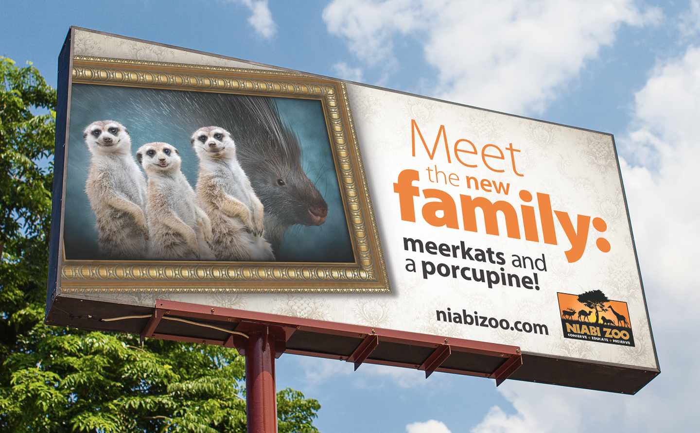 Niabi Zoo billboard by MindFire