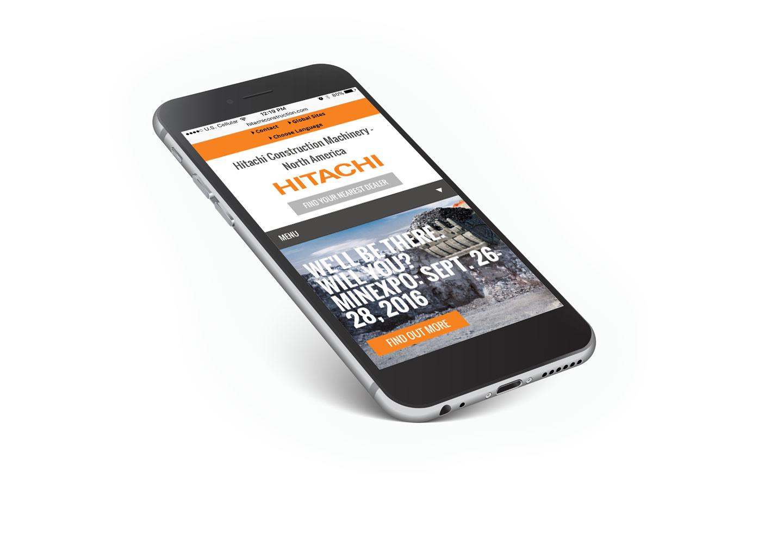 Hitachi website by MindFire