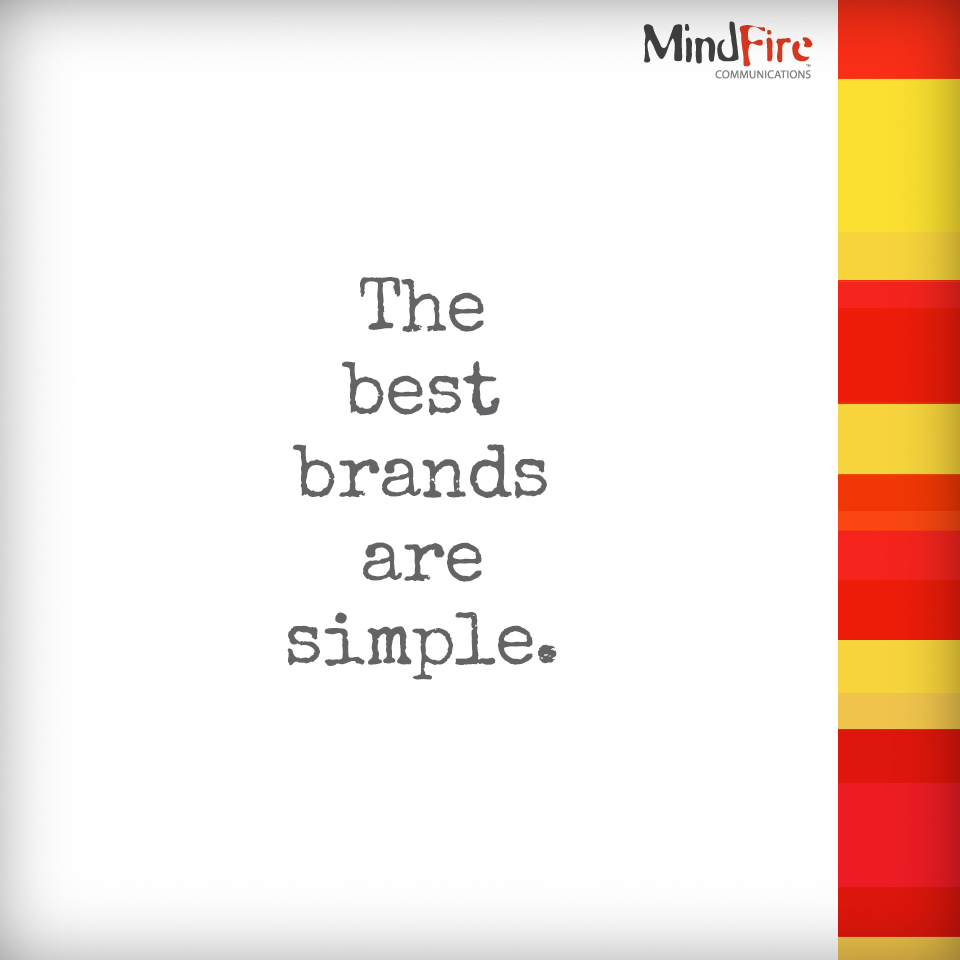 branding, marketing, simple brands, brand, mindfire communications, lynn manternach