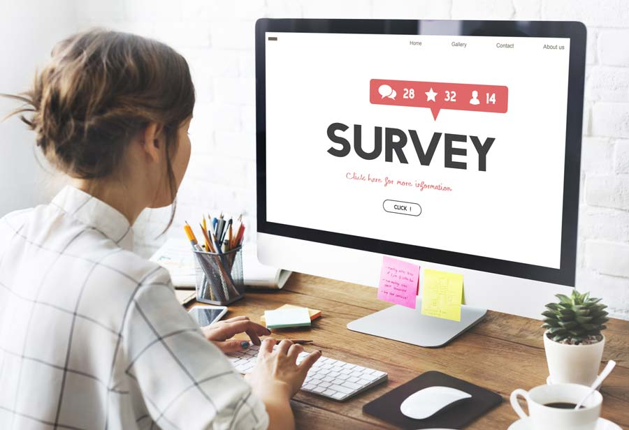 Stakeholder surveys help gather valuable data