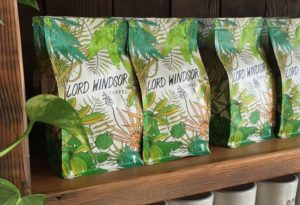 packaging with nature elements